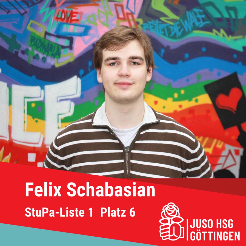Vorstellunf Felix Schabasian