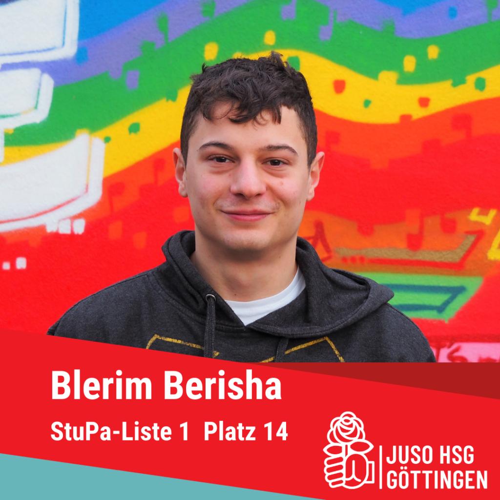 Vorstellung Blerim Berisha