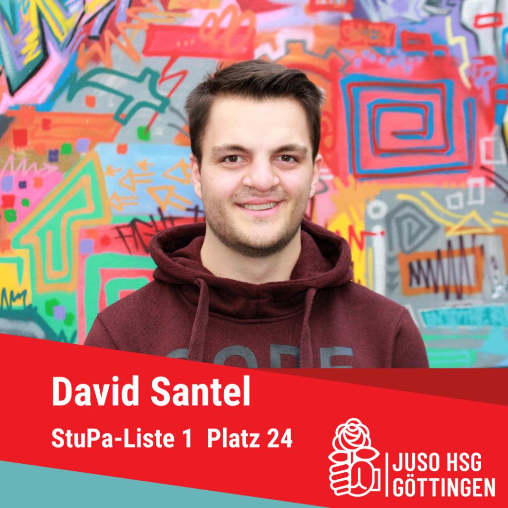 Vorstellung David Santel