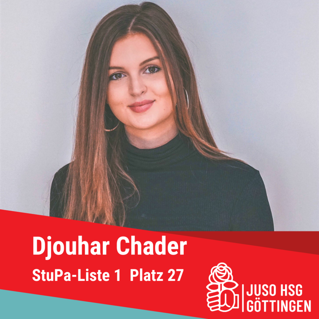 Vorstellung Djouhar Chader
