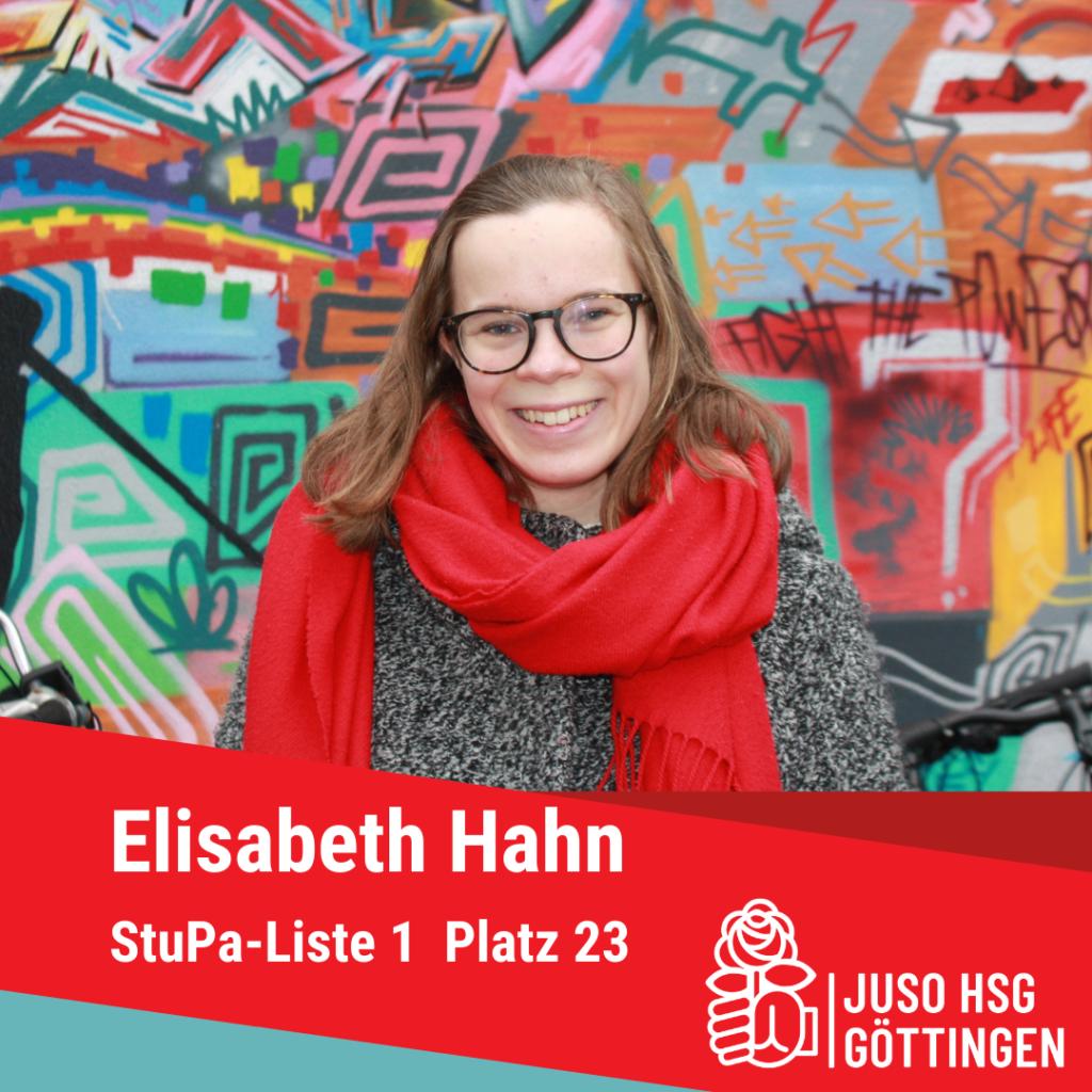 Vorstellung Elisabeth Hahn