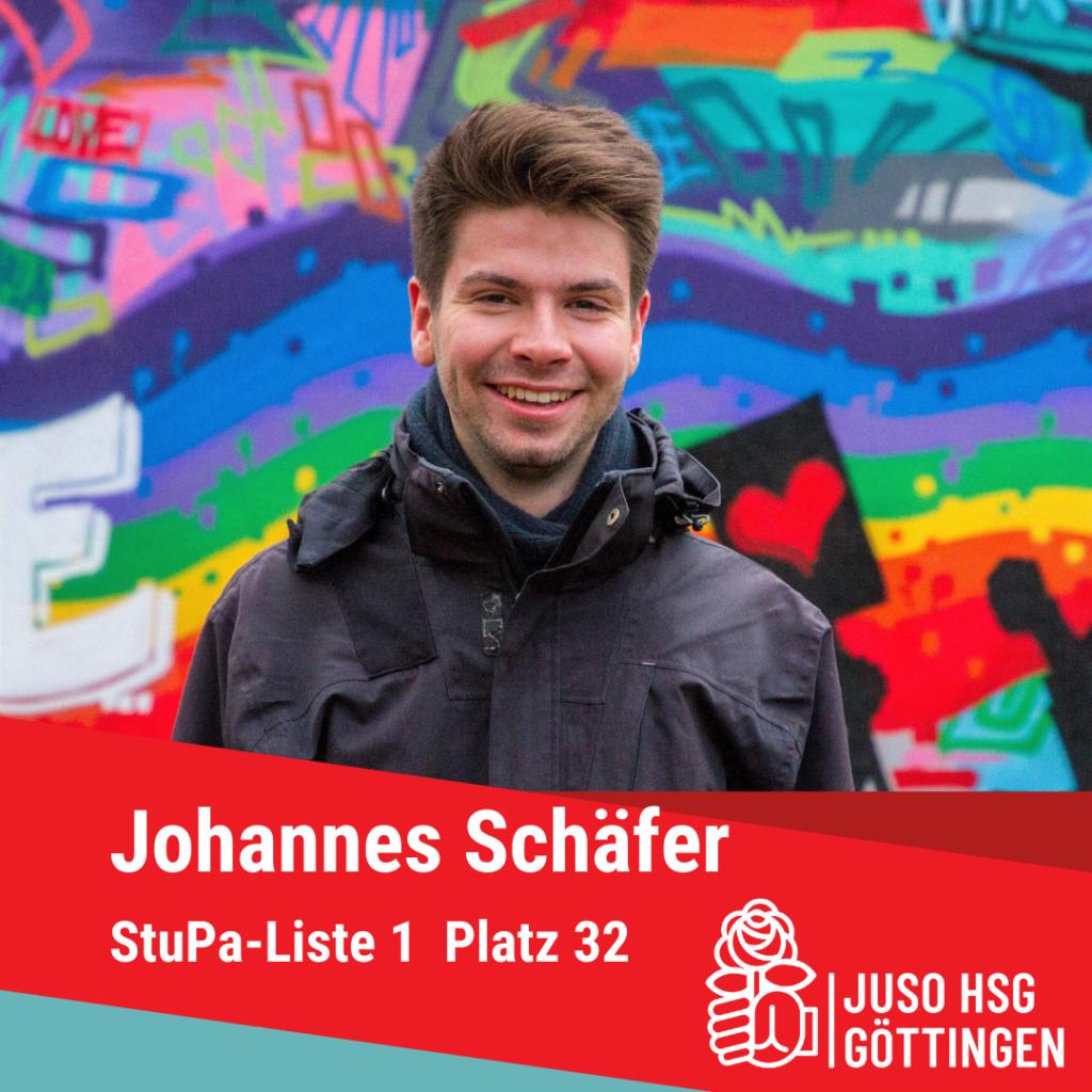 Vorstellung Johannes Schäfer