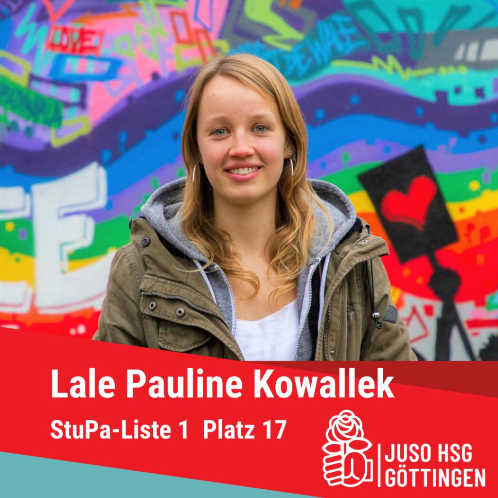 Vorstellung Lale Pauline Kowallek