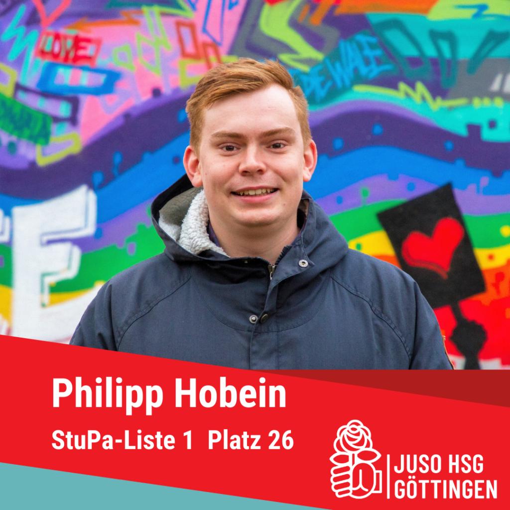 Vorstellung Philipp Hobein