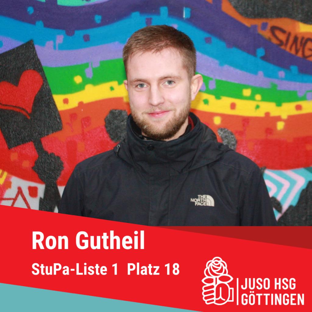 Vorstellung Ron Gutheil