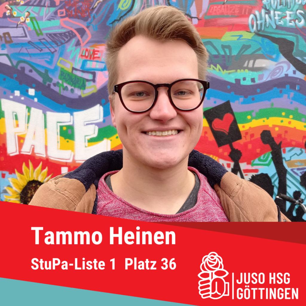 Vorstellung Tammo Heinen